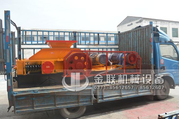 2PG800X600碎玻璃粉碎机发往重庆